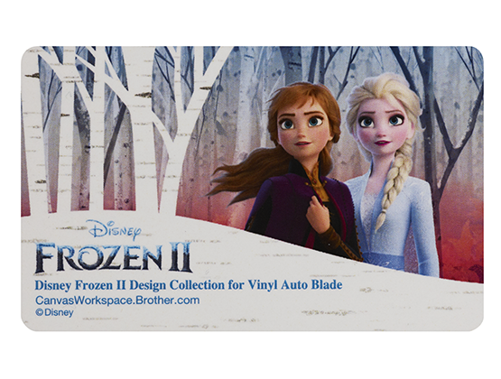 BROTHER SCAN N CUT DISNEY COLLECTION 11 - FROZEN 2