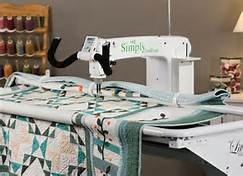 HANDI QUILTER SIMPLY SIXTEEN W/LITTLE FOOT FRAME - USED MACHINE