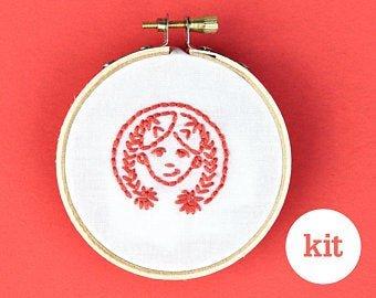 KISKATE - KIDS HAND EMBROIDERY KIT - GIRL