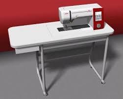 JANOME MC7700QPC USED W/UNIVERSLA TABLE