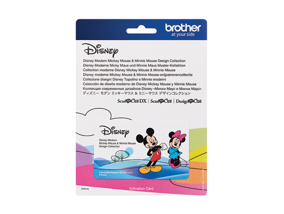 BROTHER SCAN N CUT DISNEY COLLECTION 10 - MICKEY & MINNIE MOUSE