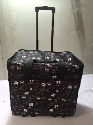 JANOME 100 YEAR FABRIC TROLLEY