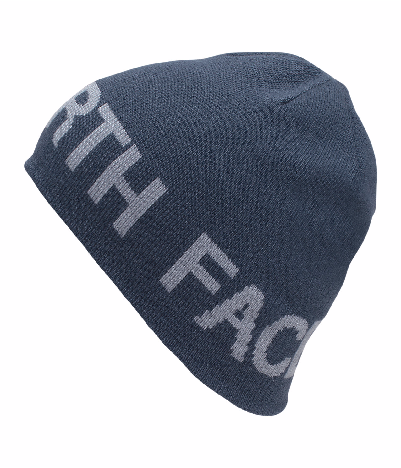 2016/17 TNF Reversible TNF Banner Beanie SHADY BLUE