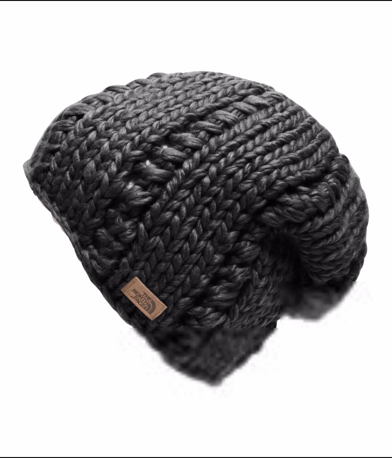 2016/17 TNF Chunky Knit Beanie TNF BLACK