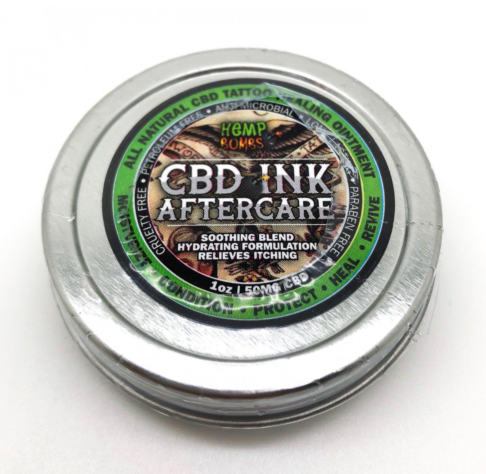 Hemp Bomb CBD Tattoo Cream  50mg  1oz