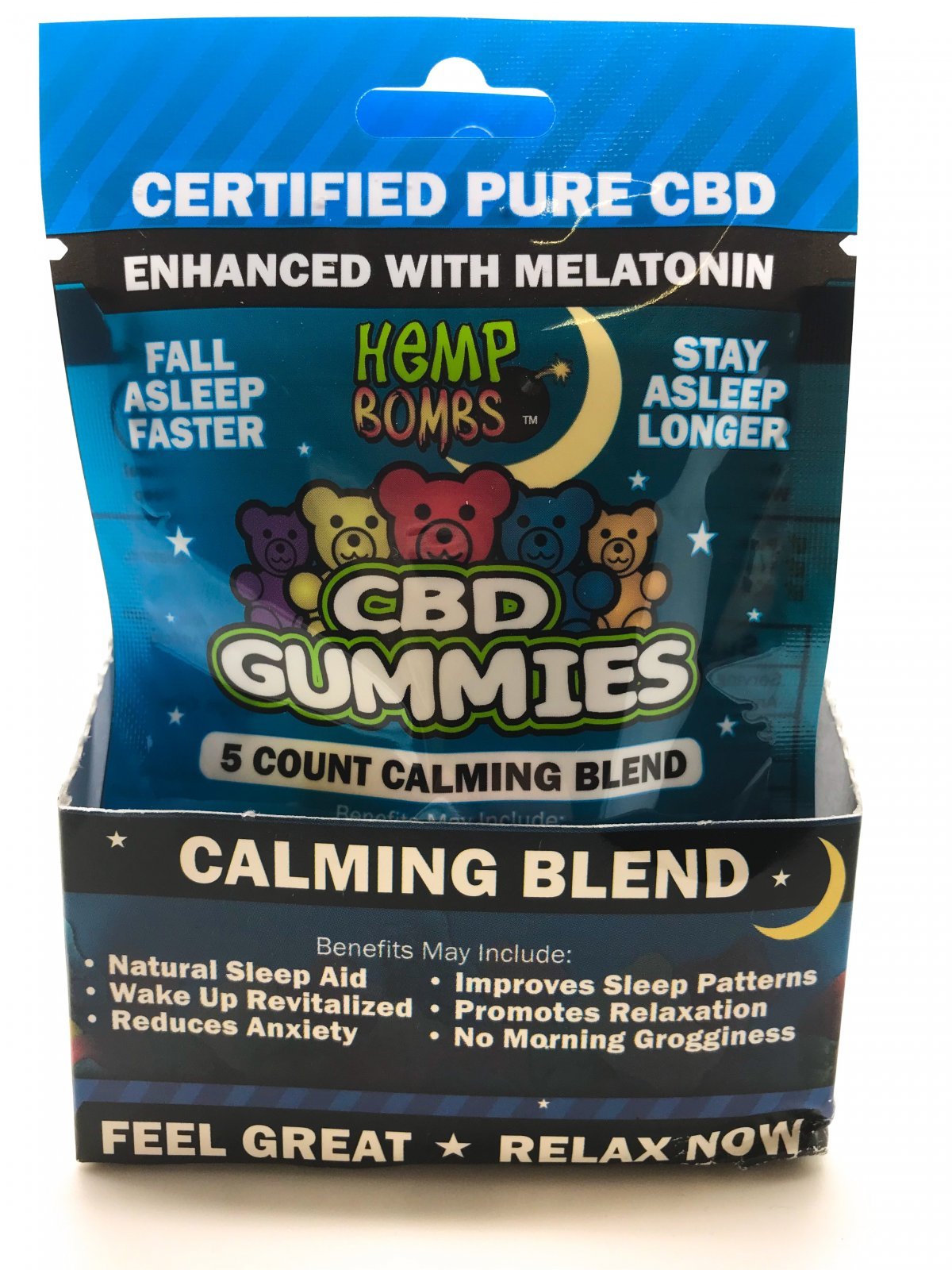 Hemp Bomb Melatonin Gummies  25ct