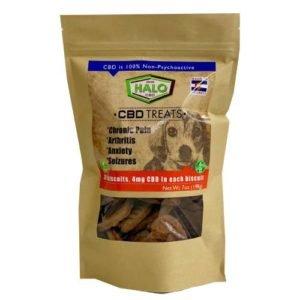 Halo CBD Dog Biscuit 4MG/Bisquit 20ct