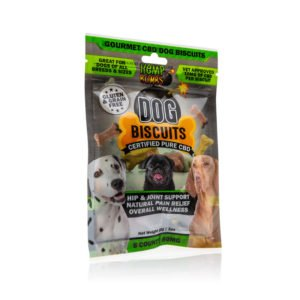 Hemp Bomb Dog Biscuit 1oz 8ct 80MG