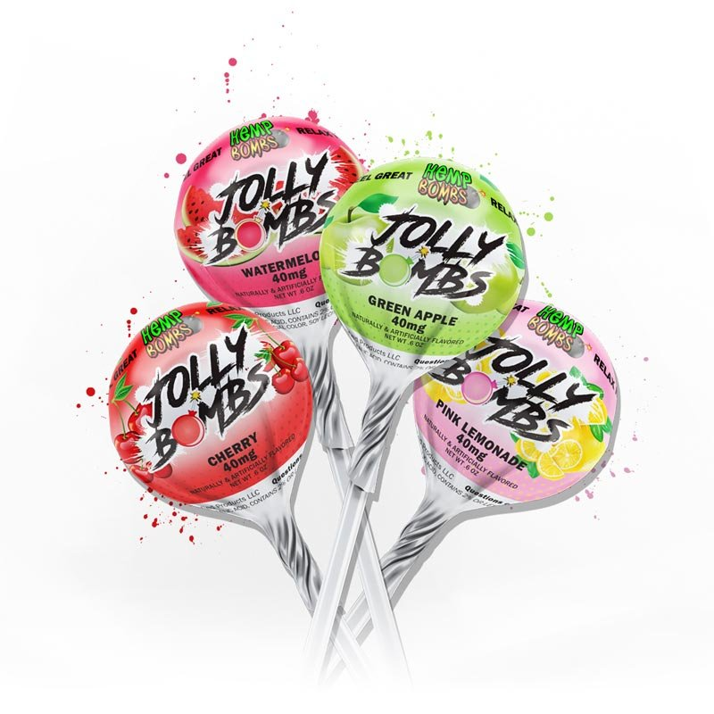 Hemp Bomb Jolly Bombs Lollipops 40MG