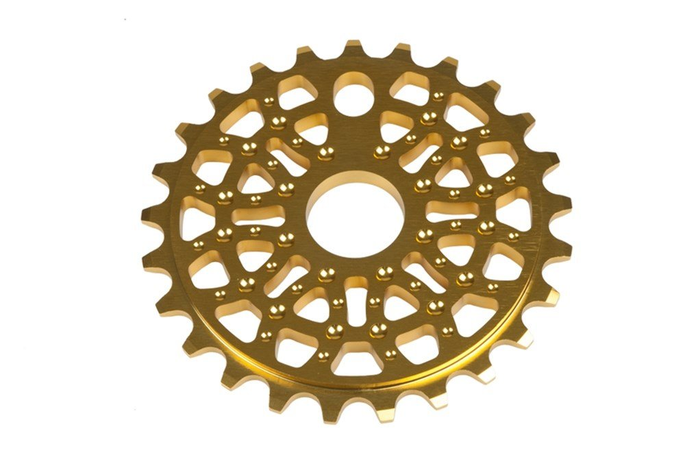 Primo JJ 28T Sprocket Gold