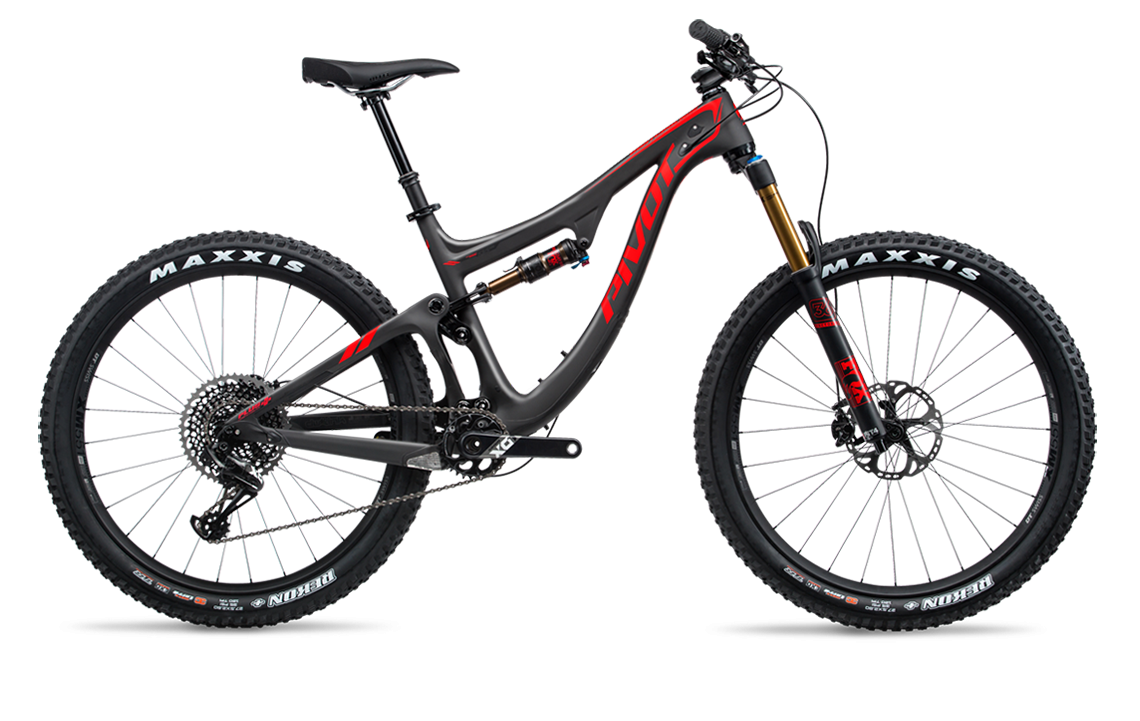 2018 Pivot Switchblade - Large - Black - 27.5+ Pro XT/XTR