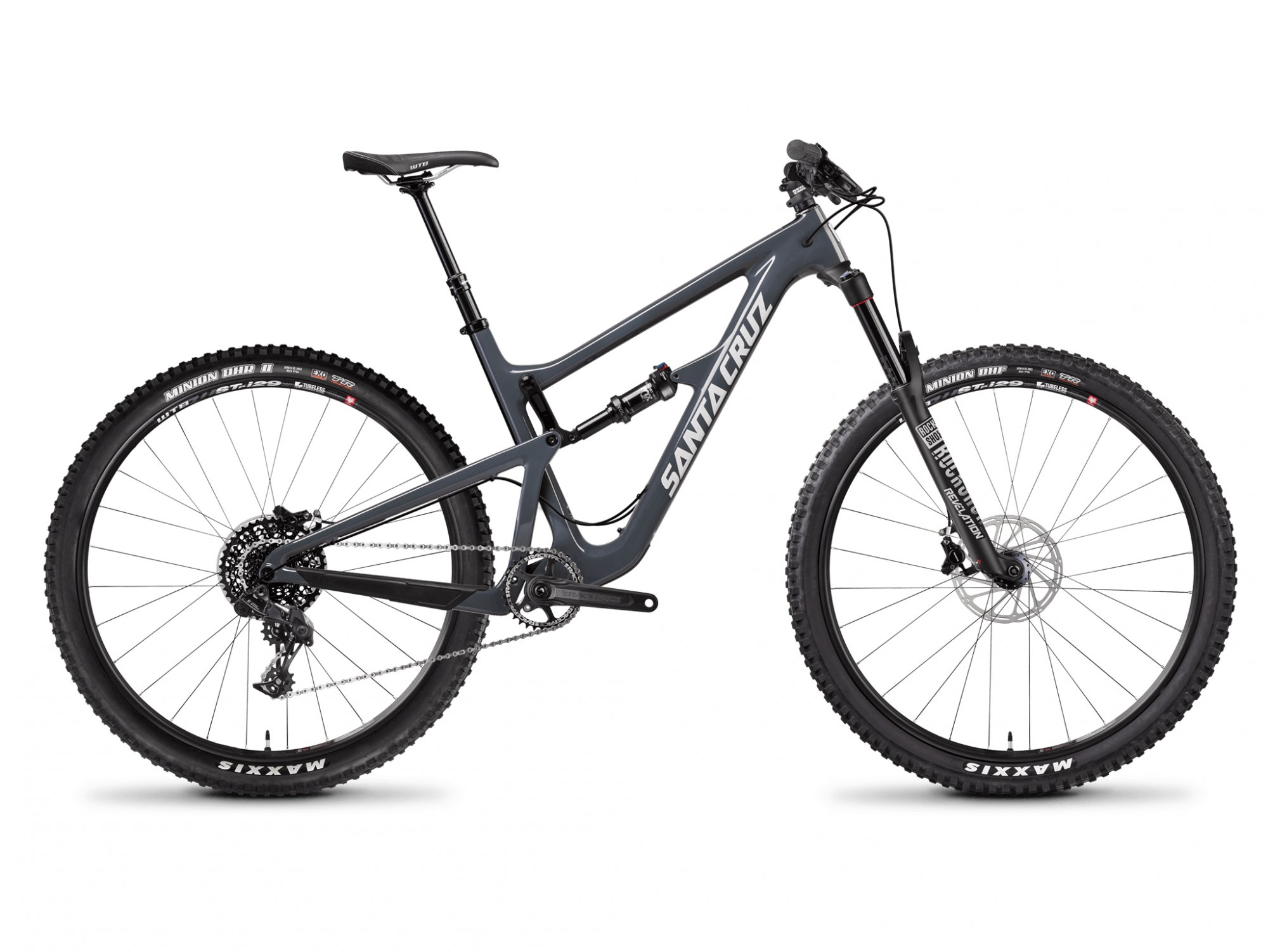 2018 Santa Cruz Hightower LT S Kit - Gloss Slate Grey