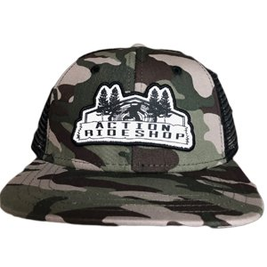 Action Henry Camo Mesh Hat