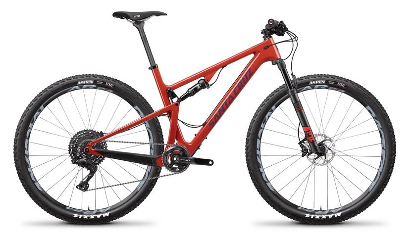 2018 Santa Cruz Blur C 29 XE Kit - Sunset Red