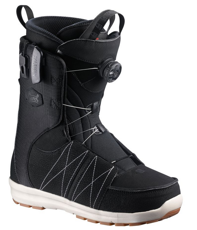 Salomon BOA SJ Ballistic Black/White