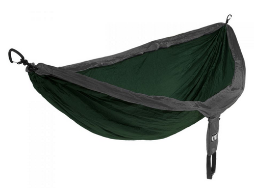 ENO DoubleNest Hammock- Forest/Charcoal