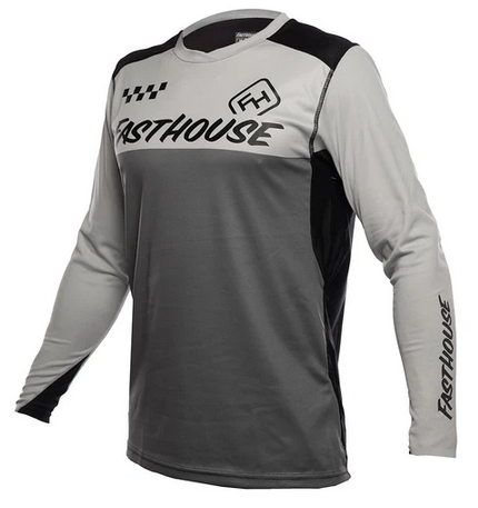 Fasthouse Alloy LS Block Youth Jersey