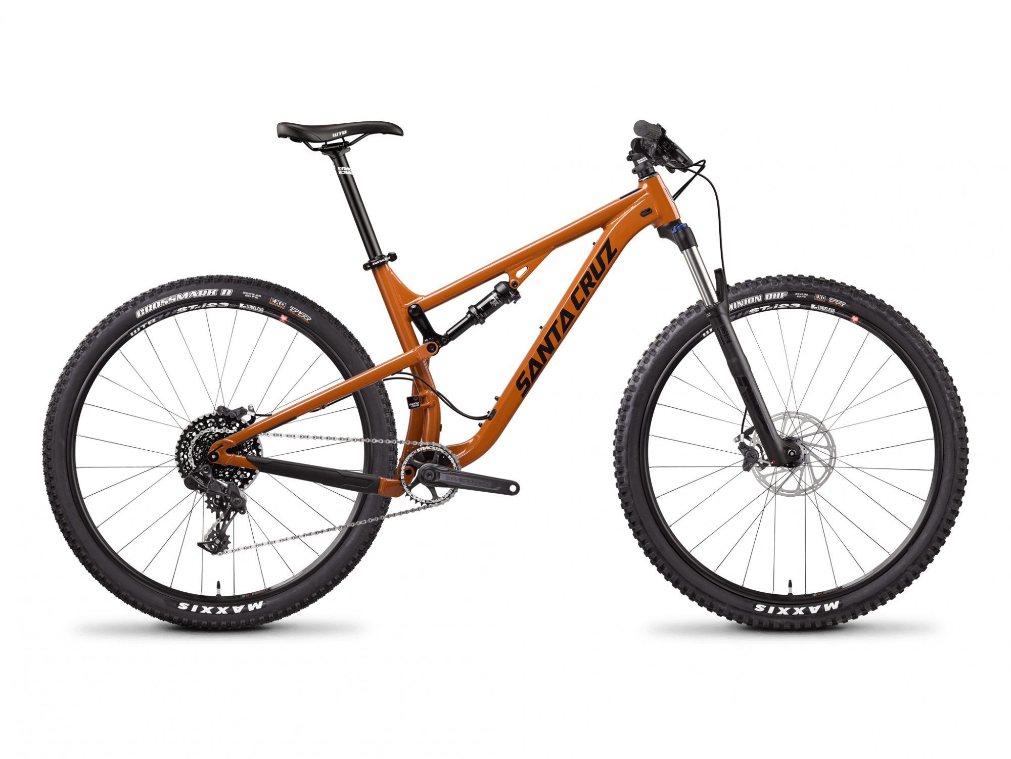 2018 Santa Cruz Tallboy C 27.5+ R Kit - Gloss Rust / Black