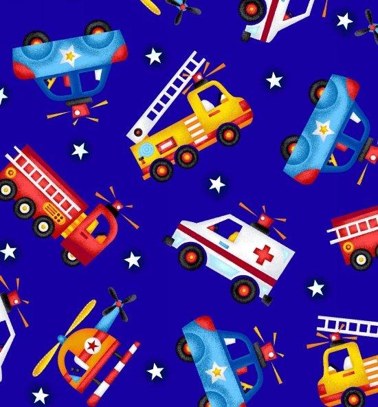 Be My Hero, Blue Vehicles