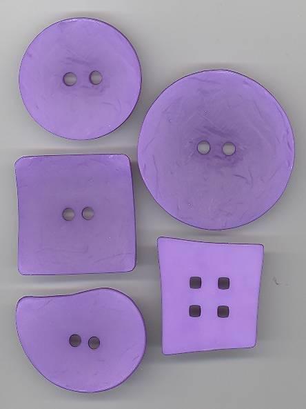 Purple Textured Square