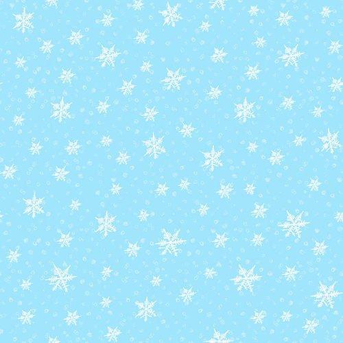 Gnomes Lt. Blue Snowflake