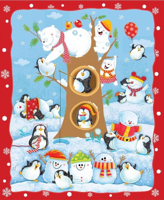 Penguin Parade, Panel