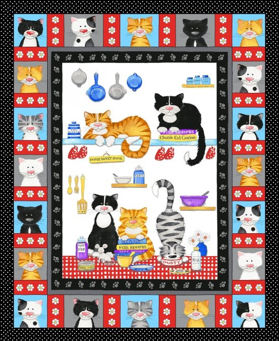 The Cat's Meow, Panel, Multi Cats