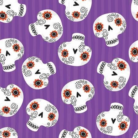 Trick or Treat, Purple Skulls