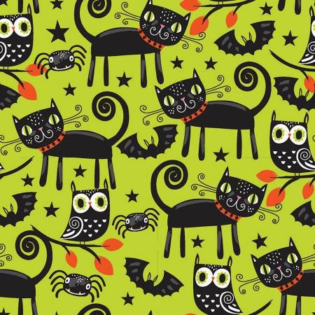 Trick or Treat, Cats & Owls