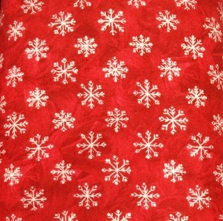 Snowflakes on Red, 1812-4