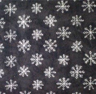 Snowflakes on Grey, 1812-5
