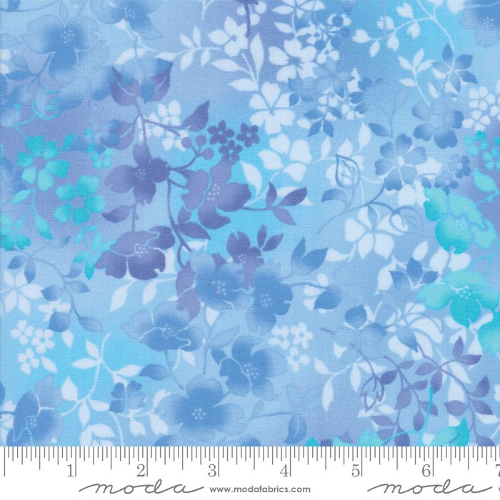 Sky Blue Blossoms