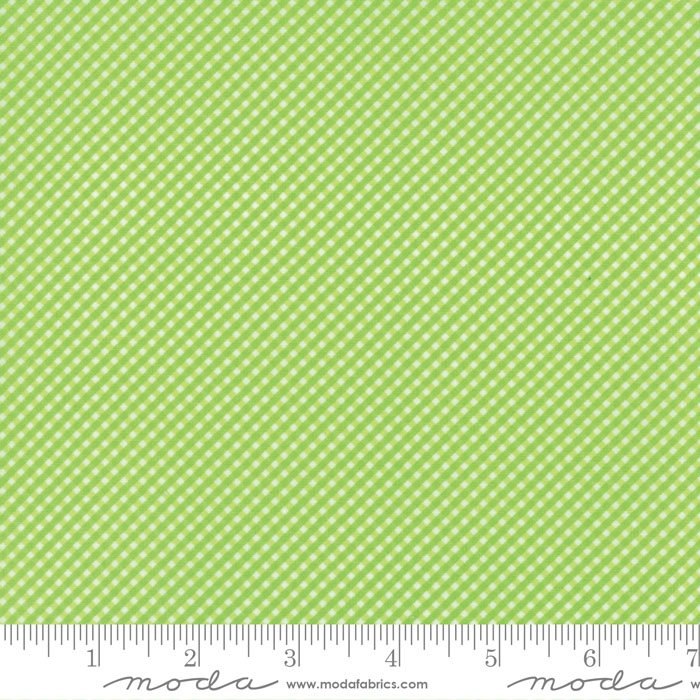 Brighten Up! Green Gingham