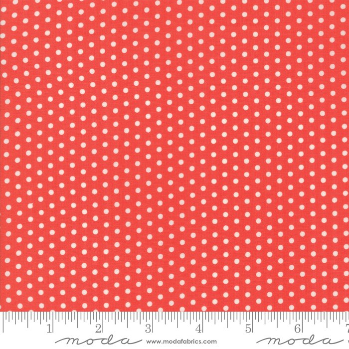Polka Dotties, Red