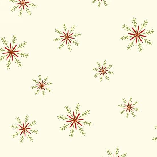 Snowflake Toss, Cream