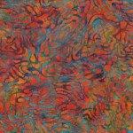 Multi Ripple Reflections Batik