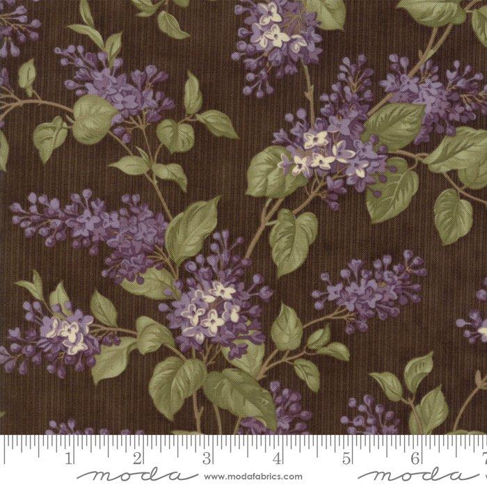 Floral Lilac Bush Brown