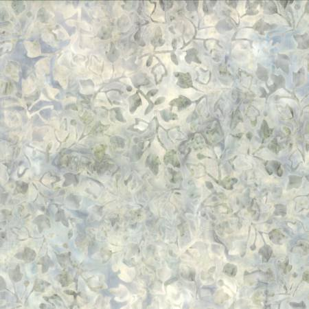 Ivory/grey Ivy Vines Batik