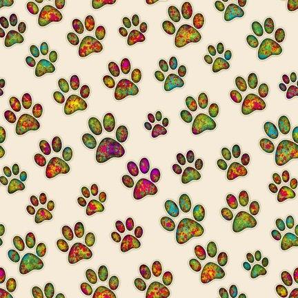 Tail of 2 Kitties, Paw Prints