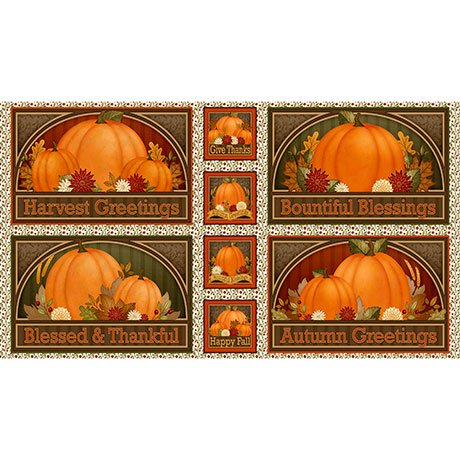 Harvest Greetings, Placemat Panel