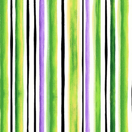 Brooke, Watercolor Stripe, Lime