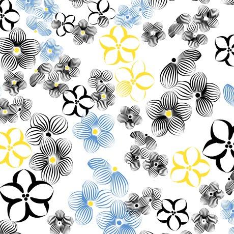 Delancey, Sm. Flowers White