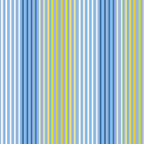 Delancey, Stripe, Blue