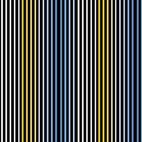 Delancey Stripe, Black