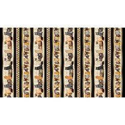 Cat Stripe, QT Fabrics