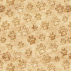 Tan Paws, QT Fabrics