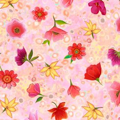 Spaced Floral Pink, Wild Beauty