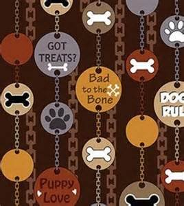 Dog-Gonnit, Dog Tags, Brown