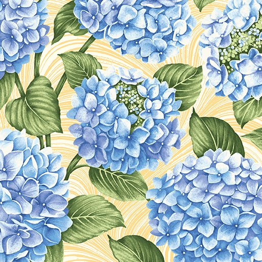 All Over Hydrangea, Yellow