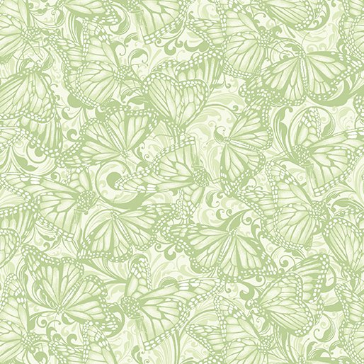 Butterfly Tonal Green
